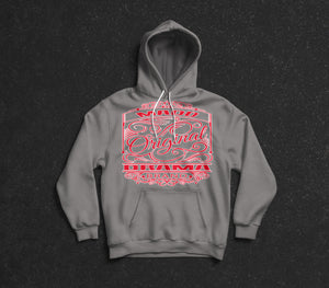 MD Original Design Hoodie Red Logo