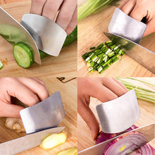 Load image into Gallery viewer, Stainless Steel Finger Guard & Cutting Guide