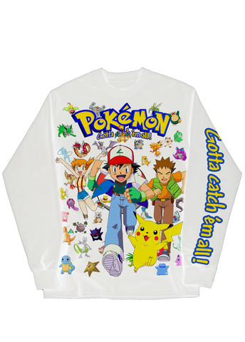 Pokemon 25th anniversary Longsleeve