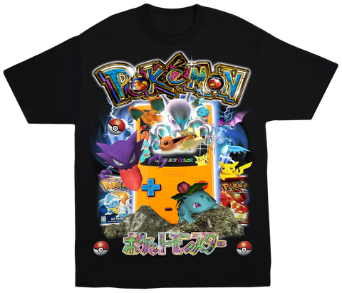 Pokemon Gameboy Tee