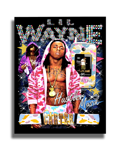 WEEZY F BABY GLOSS POSTER