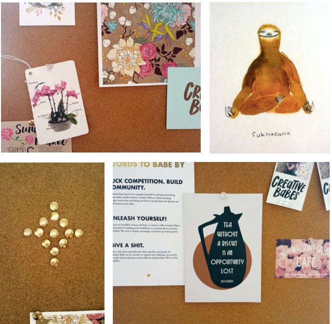 How to build an inspiration board - Eve Organics
