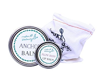 Captain Blankenship Anchor Balm & Plum Rosy Gift Set