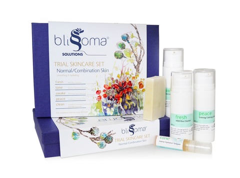 Blissoma Travel Skin Care Set - Normal/Combination Skin