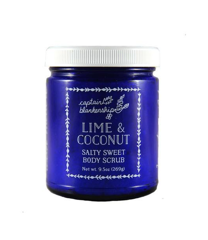 Captain Blankenship Lime & Coconut Salty Sweet Body Scrub (269g)