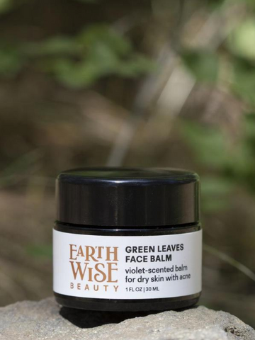 NEW Earthwise Beauty Green Leaves & Co. Face Balm - 30ml