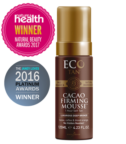 Eco Tan Cacao Firming Mousse (125ml)