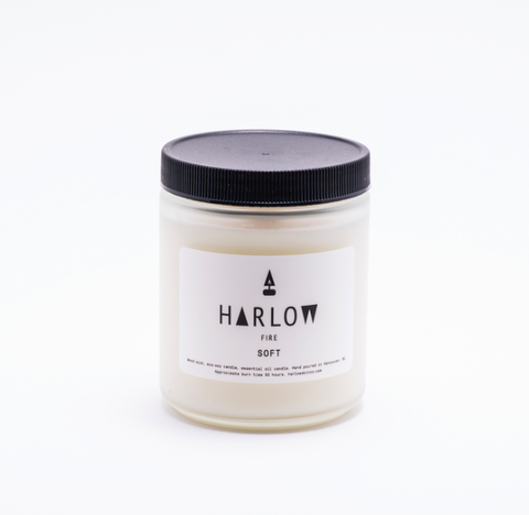 Harlow Fire Candle - Smoke (225g)