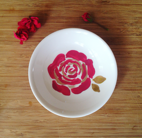 Mask Mixing Bowl - Rose Gold