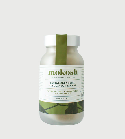 NEW Mokosh Face Cleansing Powder/Mask (125g)
