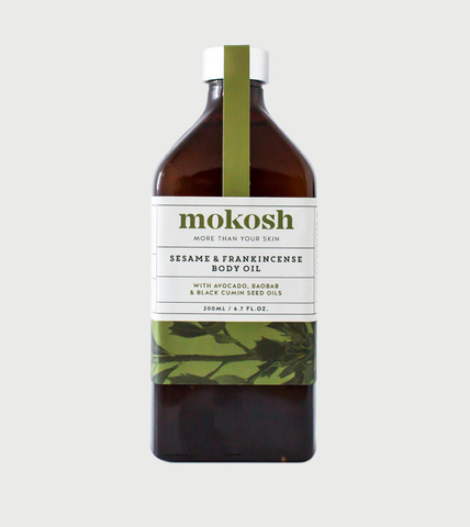 NEW Mokosh Sesame & Frankincense Body Oil (200ml)