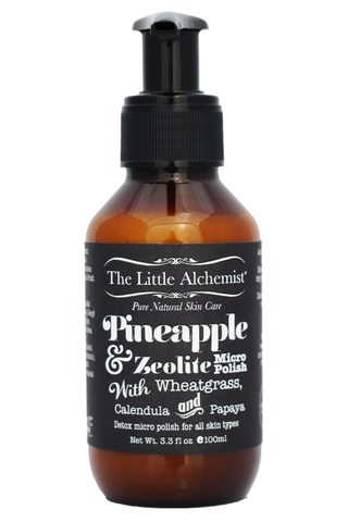 The Little Alchemist Pineapple & Zeolite Micropolish (100ml)