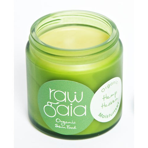 Raw Gaia Hemp Heaven Moisturiser (60ml/120ml)
