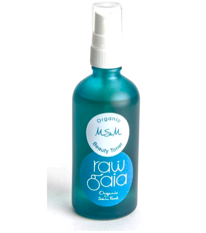 Raw Gaia MSM Beauty Toner (100ml)