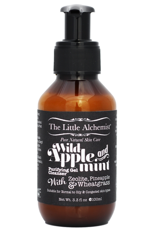 The Little Alchemist Wild Apple & Mint Purifying Gel Cleanser (100ml)