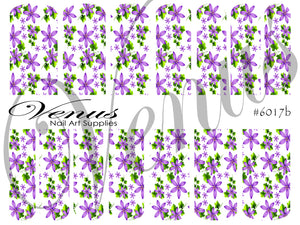 #6017b Forget Me Not (Clear/White)