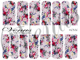 #6306 Floral 06 (Clear/White)