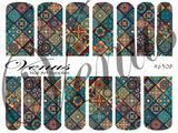#6308 Patchwork (Clear/White)
