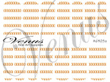 #6405a Chains - Gold A (Clear/White)
