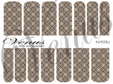 #6408a Brown (Clear/White)