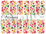 #6501 Fruit Salad (Clear/White)