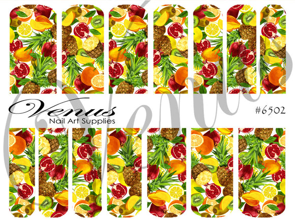#6502 Fruitilicious (Clear/White)