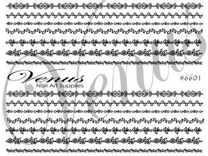 #6601 Luscious Lace (Clear)