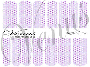 #6702b Purple B (Clear/White)