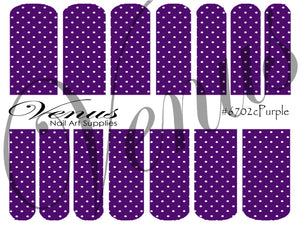 #6702c Purple C (Clear/White)