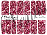 #6702 Pink - SET OF 6 (Clear/White)