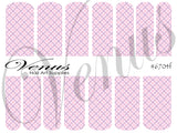 #6704 Girly Girl SET OF 6 (Clear/White)