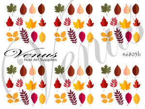 #6803b Autumn Leaves B (Clear)
