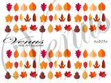 #6803e Autumn Leaves E (Clear)
