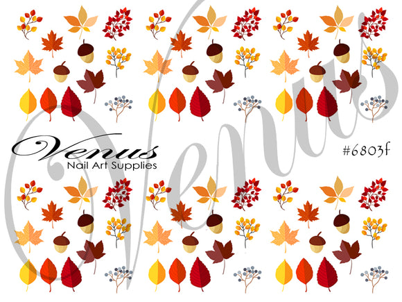 #6803f Autumn Leaves F (Clear)