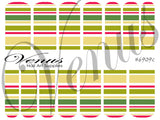 #6909 Christmas 09 - SET OF 6 (Clear/White)