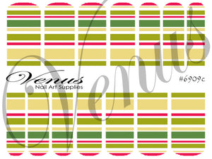#6909c Christmas 09c (Clear/White)