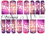 #6921a Christmas Lights - Pink (Clear/White)