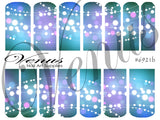 #6921b Christmas Lights - Blue (Clear/White)