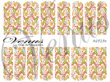 #6929e Christmas Florals (Clear/White)