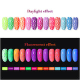 FLUORESCENCE Series 8ml - Stamping Gel/Gel Paint