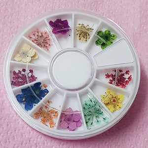 DRIED FLOWERS Wheel