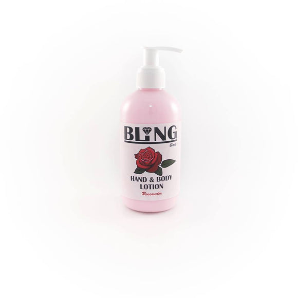 HAND/BODY LOTION (RoseWater) - 250ml