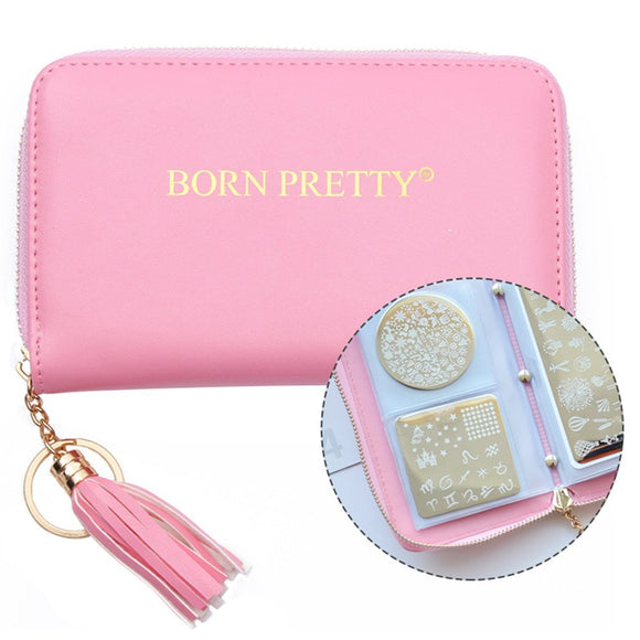 Born Pretty 24 slot Stamping Plate Case (round, square, rectangle)