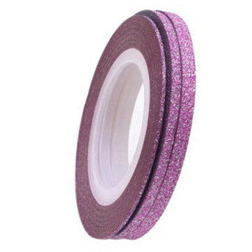 GLITTER Striping Tape - PINK