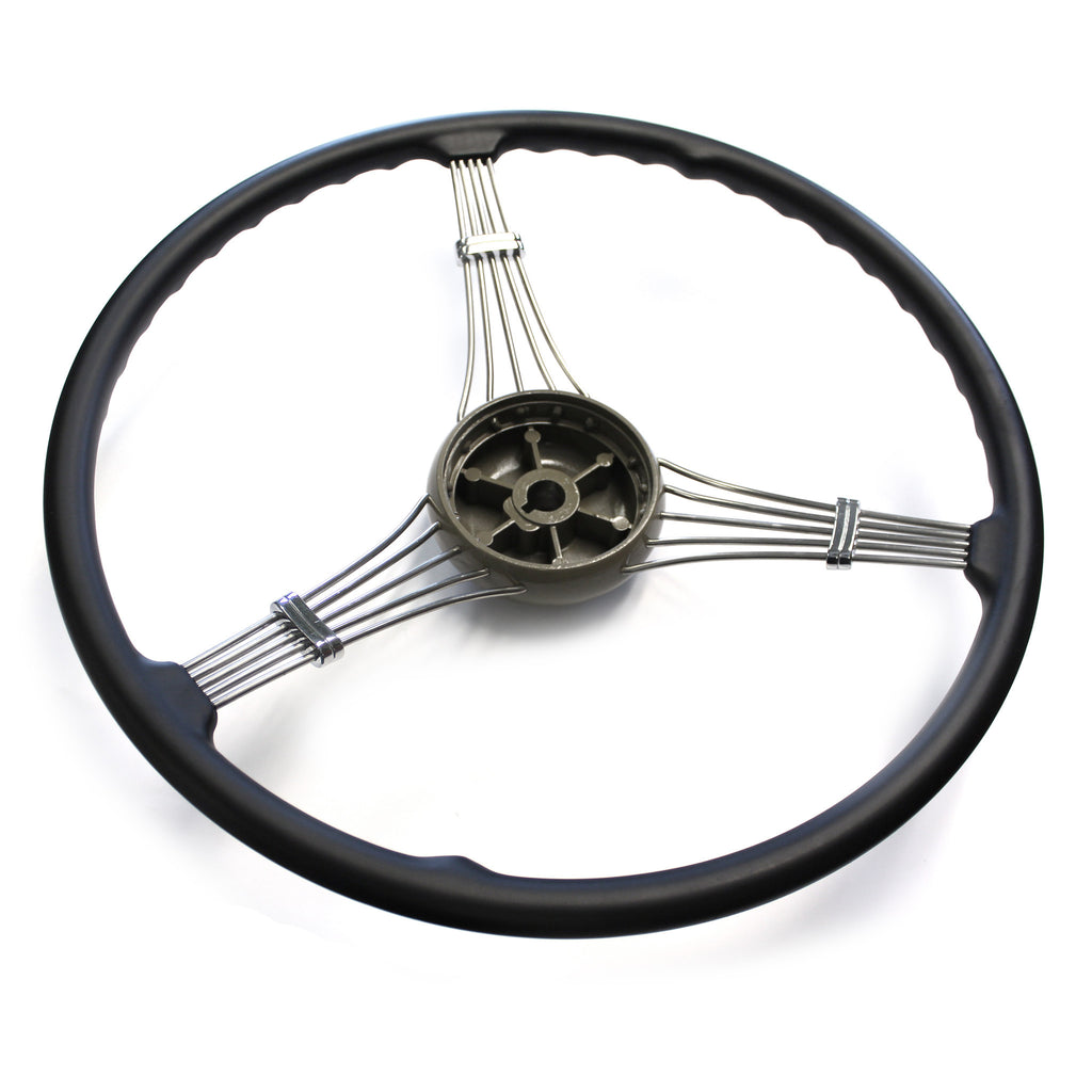 Banjo Steering Wheel 1937 1939 With Ford Script Horn