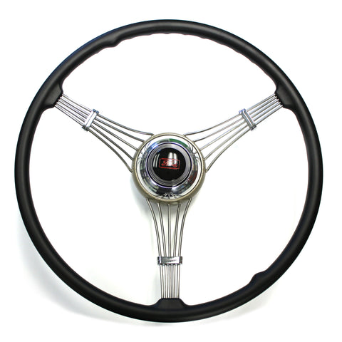 Banjo Steering Wheel 1937-1939 With Ford Script Horn Assembly (sorry out of stock at present time)