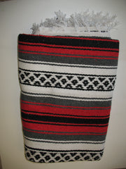 Mexican Blanket (Blue, Red or Green)