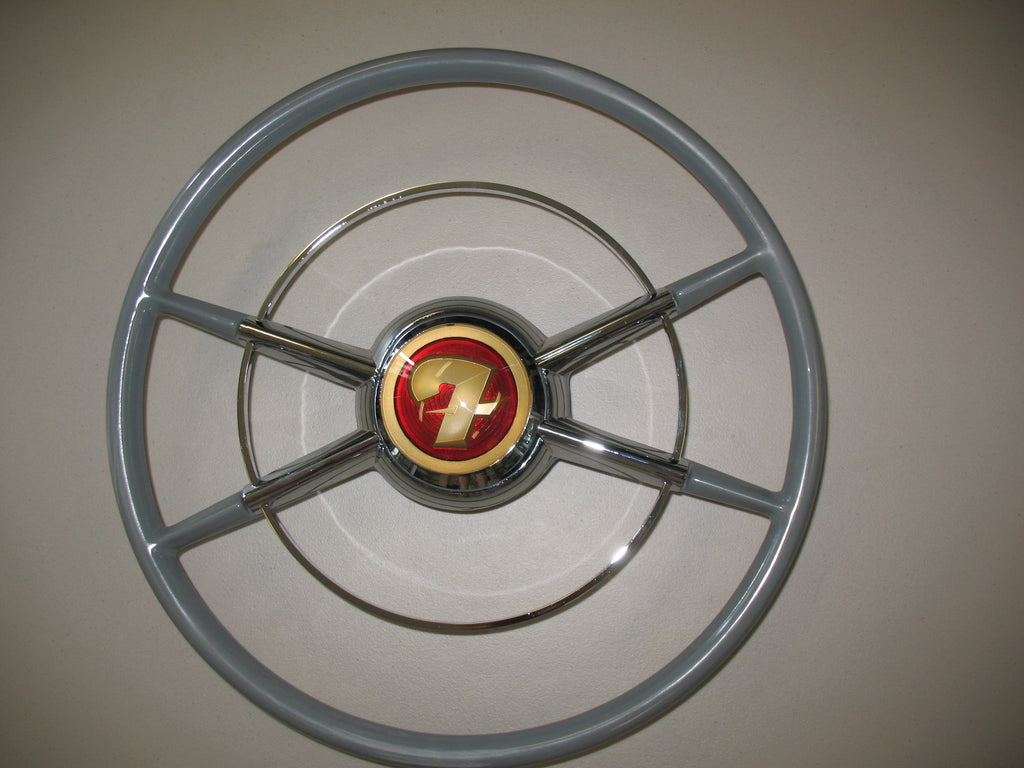 "Crestliner Steering Wheel in primer, 16"" Diameter for a GM and most other columns providing an adapter is available"