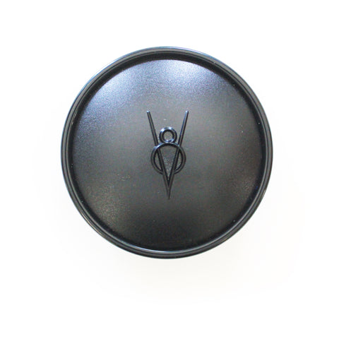 Forty Style Horn Button Only with Black Embossed V8