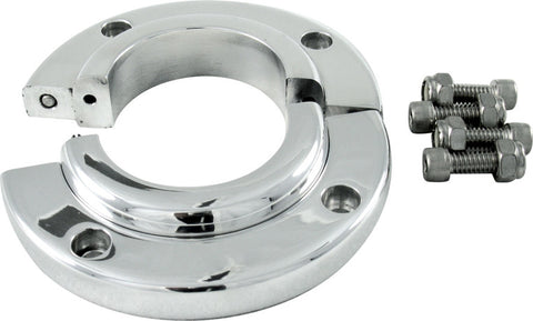 Swivel Mount Polished Aluminum Split
